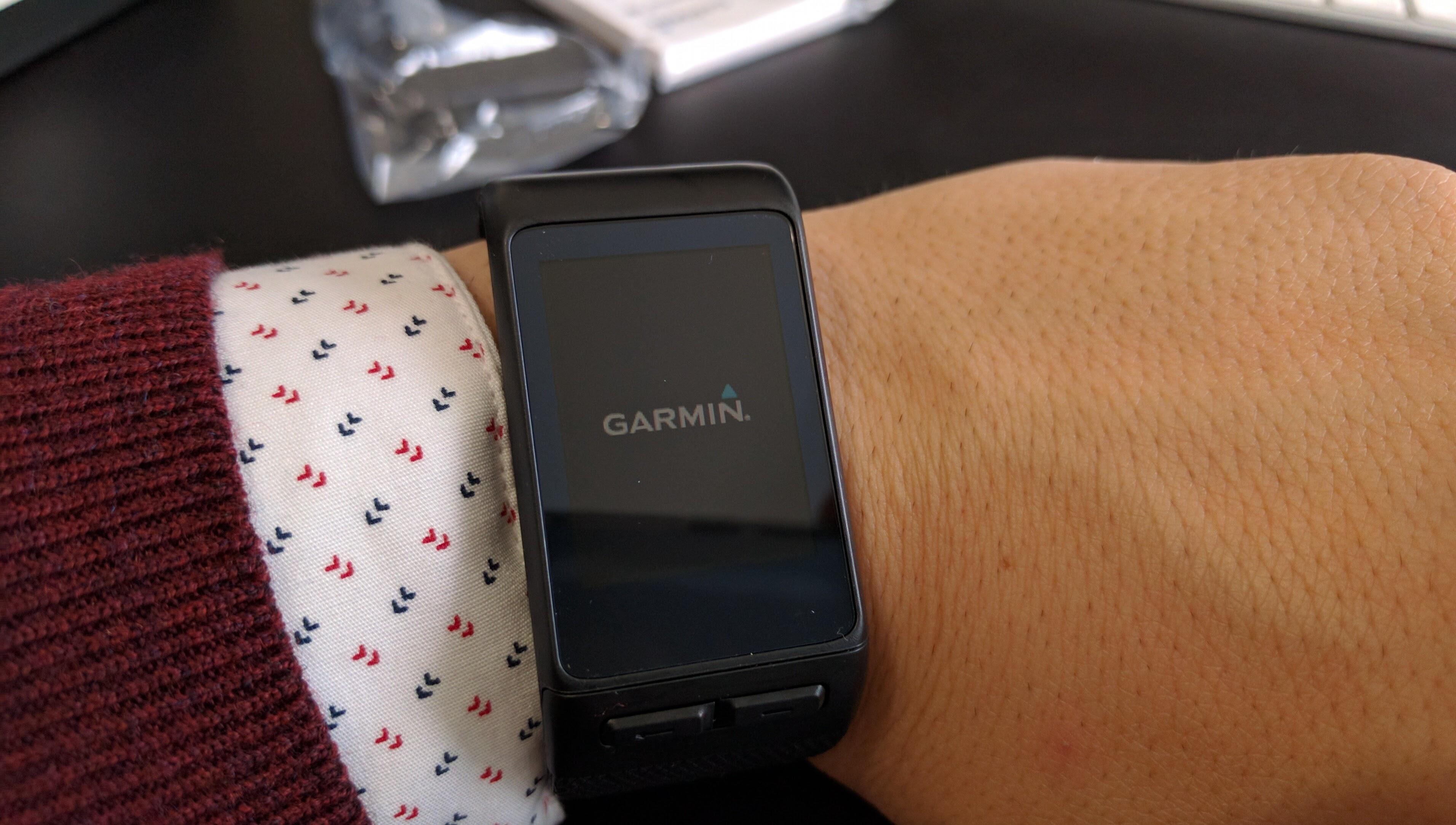Set Garmin Vivoactive HR notifications for Telegram — userlinux net